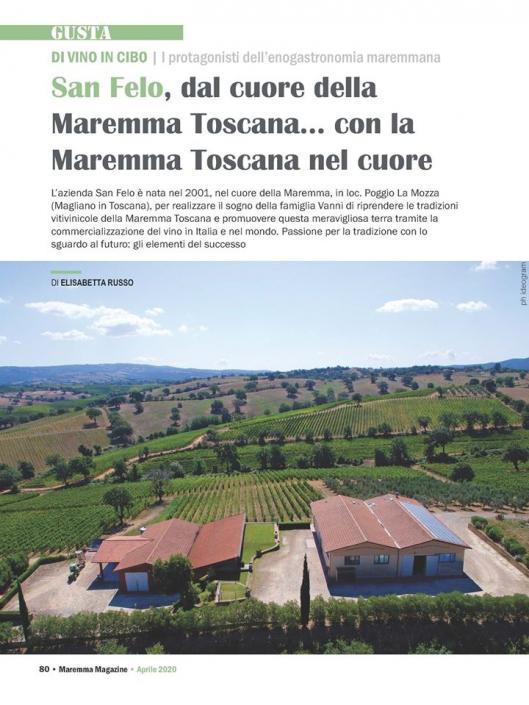 Press San Felo Magliano in Toscana Grosseto Italy